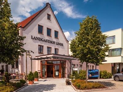Außenaufnahme Landgasthof und Hotel Linde, Deffingen (Günzburg)
